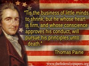 essay on Thomas Paine and his work, Common Sense.