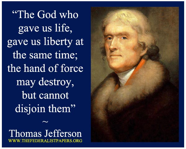 Thomas Jefferson Poster Thomas Jefferson Quote Poster