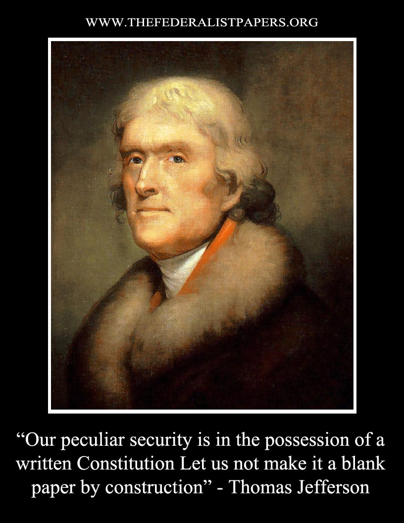 Letter Thomas Jefferson Thomas Jefferson Poster