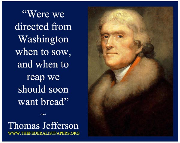 Thomas Jefferson Poster, Sowing & Reaping