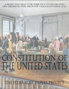 Constitution of The United States and Principles of Constitutional Analysis Book Cover