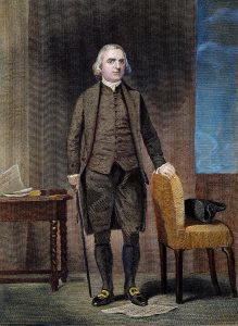 Samuel Adams, by Granger