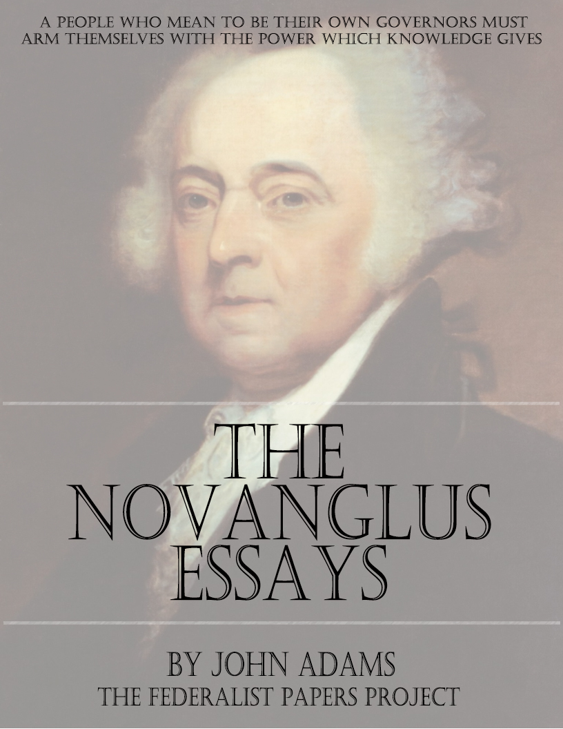 novanglus essays summary