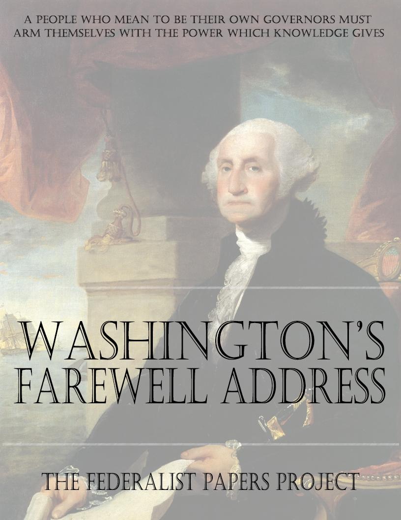 George Washington's Advice to Us Now