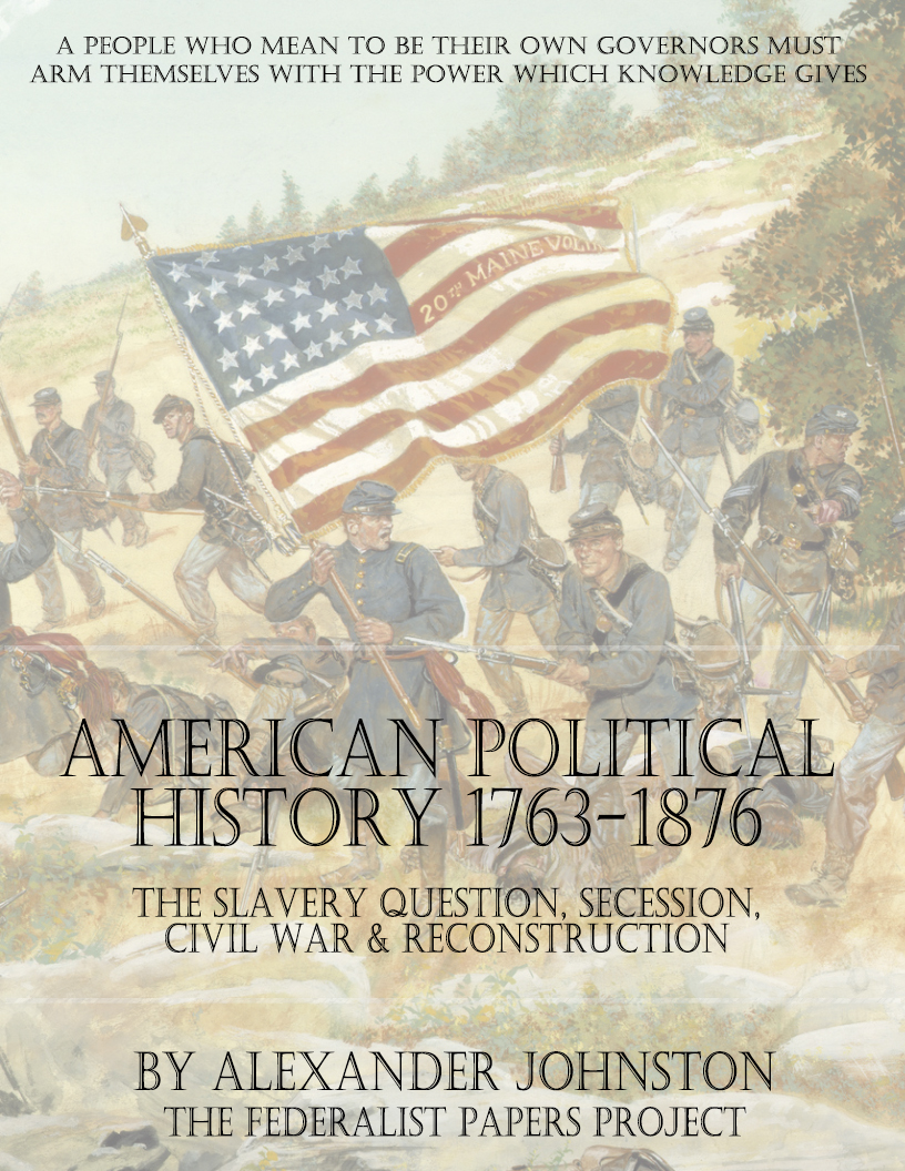 an analysis of the topic of american history government Find out more about the history of constitution, including videos, interesting  articles, pictures,  the constitution of the united states established america's  national government and fundamental laws  another controversial topic was  slavery.