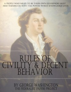 Rules of Civility and Decent Behavior by George Washington Book Cover