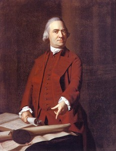 Samuel Adams, the militia