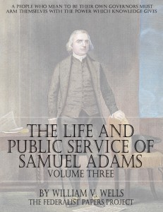 The Life And Public Services of Samuel Adams – Volume Three book cover