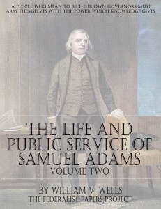 The Life And Public Services of Samuel Adams – Volume Two book cover