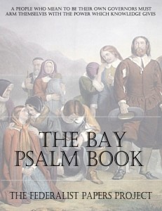 The Bay Psalm Book - Book Cover