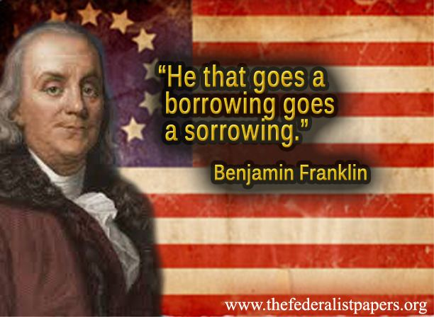 Image result for Ben Franklin quotes on Paper money cartoon