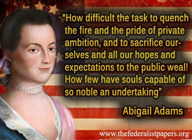Abigail Adams , Letter to John Adams (10 July 1775)