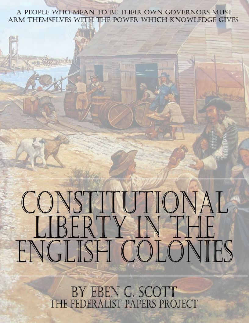 Essays in the Constitutional History of the United States in the ...