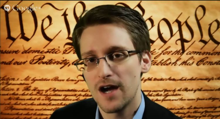 Edward Snowden SXSW Conference youtube screenshot