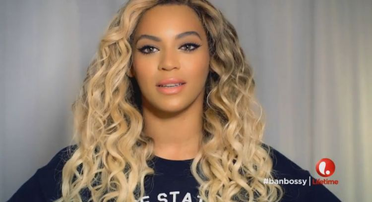 Ban the word Bossy youtube screenshot Beyonce