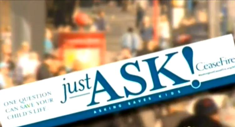 "Seattle's ""Just Ask"" anti gun, anti second amendment campaign, youtube screenshot"