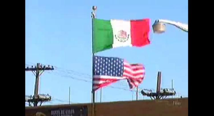 American Flag vs Texas Flag Flag Over an American Flag