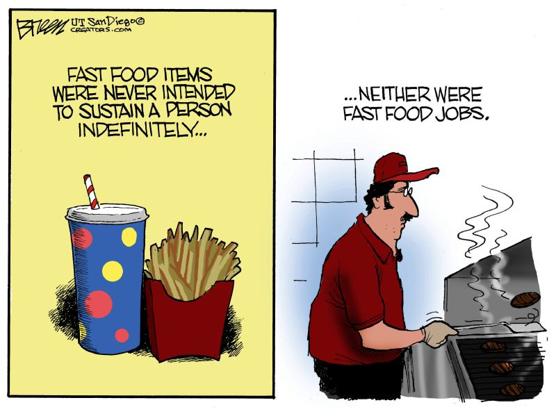 Minimum Wage Over Time Minimum Wage Laws Never Work